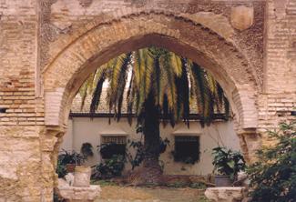 Arco Mudejar Sta Cruz