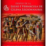 BAENA. DESFILE DE LA LEGIO I VERNÁCULA DE GILENA LEGIONNAIRES
