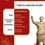 CICLO DE CONFERENCIAS – ARTE ROMANO EN LA BÉTICA