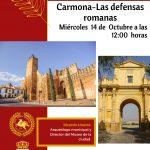 CICLO DE CONFERENCIAS – Las Defensas Romanas – Carmona