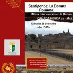 CICLO DE CONFERENCIAS – La Domus Romana – Santiponce